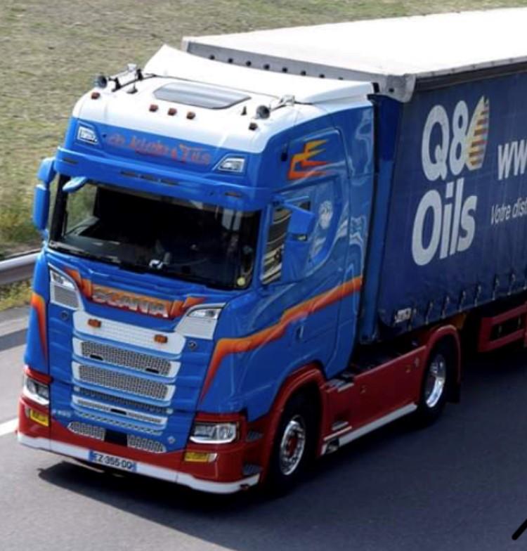 Q8Oils Scania